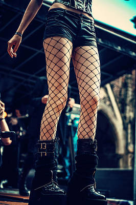 Photograph - Summer Darkness 13. Gothic Festival In Utrecht by Jenny Rainbow
