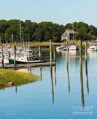 Photograph - Summer Day On The Harbor by Michelle Wiarda-Constantine