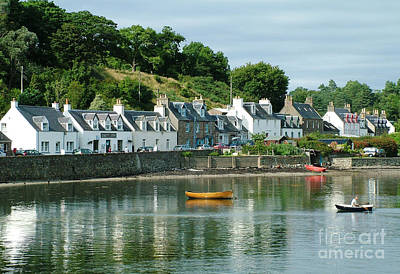 Photograph - Summer Day - Plockton by Phil Banks