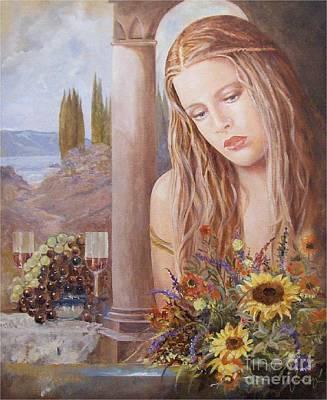 Painting - Summer Day by Sinisa Saratlic
