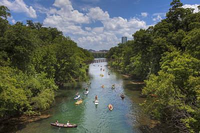 Lady Bird Lake Photograph - Summer Days At Zilker Park 3 by Rob Greebon