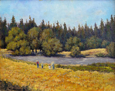 Painting - Summer Days by Marv Anderson