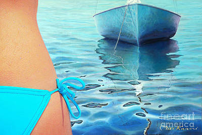Painting - Summer Days by Miki Karni