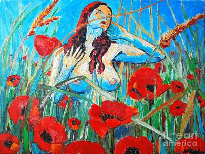 Summer Dream 1 Art Print by Ana Maria Edulescu