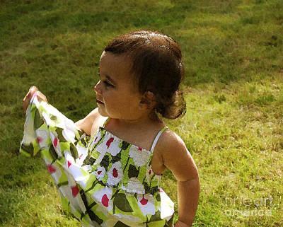 Photograph - Summer Dress by Terri Thompson