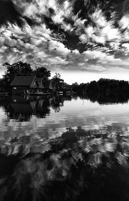 Photograph - Summer end at the lake by Ferenc Farago - Photograph Art