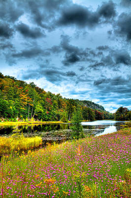 Photograph - Summer Ending On Bald Mountain Pond by David Patterson