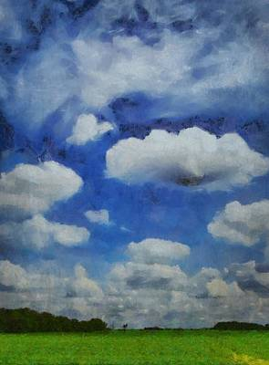 Cloudy Day Mixed Media - Summer Escape by Dan Sproul