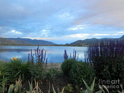 Photograph - Summer Evening At Lake Osoyoos by Margaret McDermott