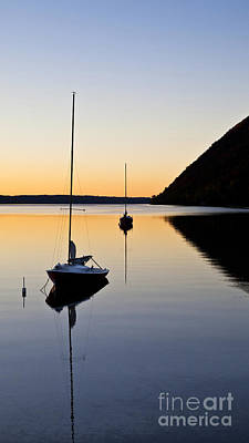 Photograph - Summer Evening On Lake Willoughby by Alan L Graham
