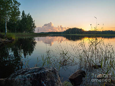 Photograph - Summer Evening To Remember by Ismo Raisanen
