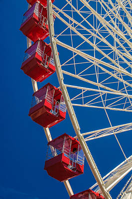 Photograph - Summer Ferris Wheel Fun by Julie Palencia