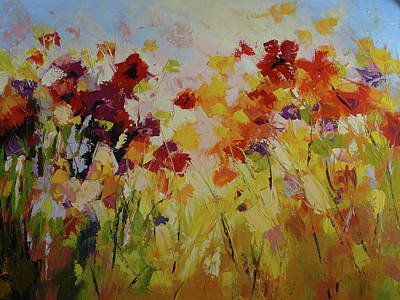 Summer Field Art Print by Yvonne Ankerman
