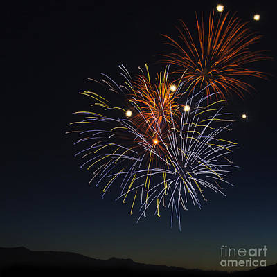 Photograph - Summer Fireworks 1 by Sonya Lang