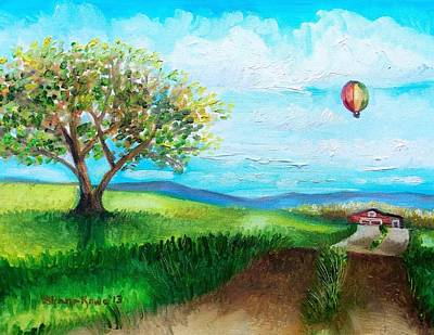 Painting - Summer Flight 2 by Shana Rowe Jackson