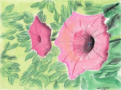 Summer Flowers Art Print by David Jackson