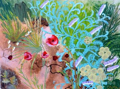 Summer Flowers Art Print by Olga R