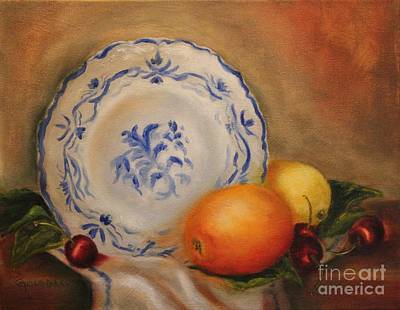 Painting - Summer Fruit by Kathy Lynn Goldbach