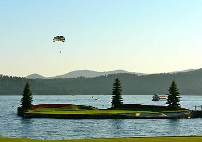 Photograph - Summer Fun On Lake Coeur D' Alene by Jean Wright