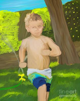 Summer Fun Art Print by Scott Laffin