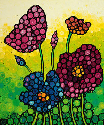Painting - Summer Garden 2 by Sharon Cummings