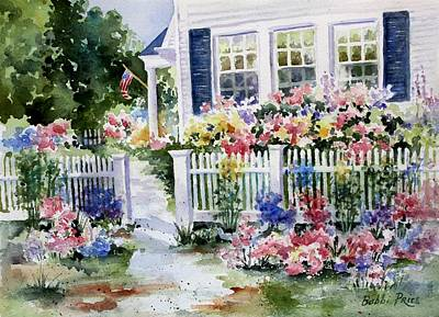 Painting - Summer Garden by Bobbi Price