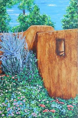 Painting - Summer Garden by Susan M Woods