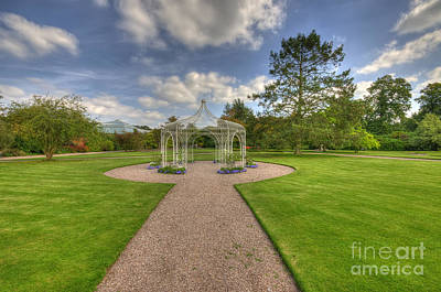 Photograph - Summer Gazebo by Darren Wilkes