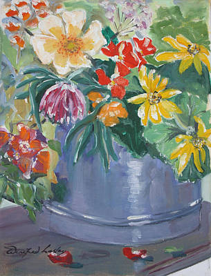 Painting - Summer Glow by Winifred Lesley