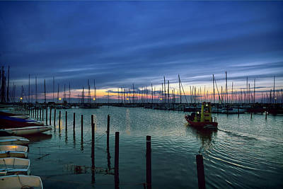 Edge Photograph - Summer Harbor by EXparte SE