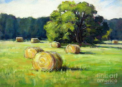 Summer Hay Art Print by Vickie Fears