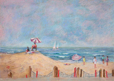 Pastel - Summer Haze by Nancy Yang