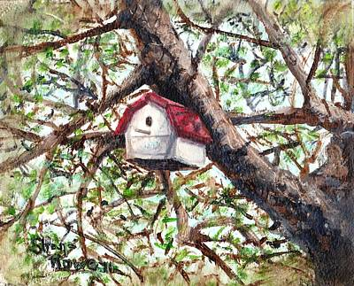 Art Print featuring the painting Summer Home by Shana Rowe Jackson