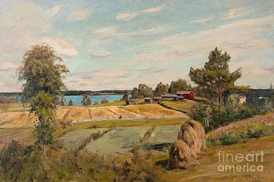 Scandinavia Painting - Summer Idyll by Celestial Images