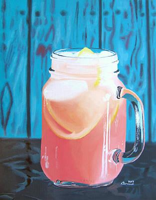 Grapefruit Painting - Summer In A Mug by Kayleigh Semeniuk