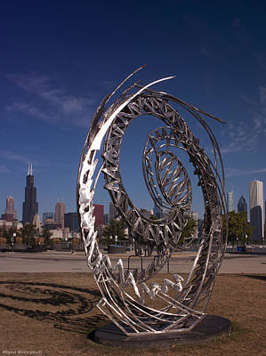 Photograph - Summer In Chicago by Miguel Winterpacht