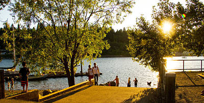 Photograph - Summer In Portland by Kunal Mehra