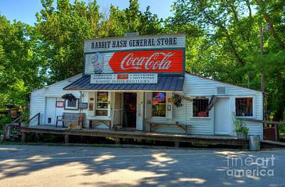 Coca-cola Sign Photograph - Summer In Rabbit Hash by Mel Steinhauer