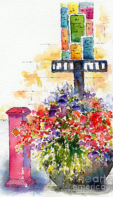 Painting - Summer In The City by Pat Katz