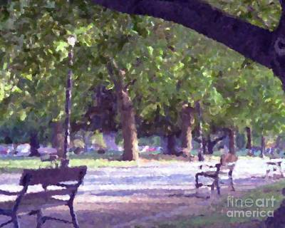 Photograph - Summer In The Park by Donna Cavanaugh