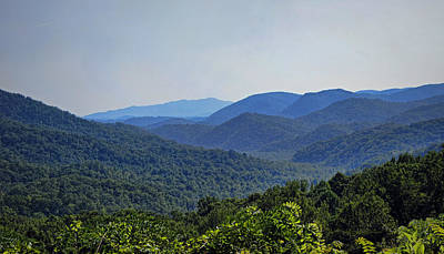 Summer In The Smokies Art Print by Cricket Hackmann