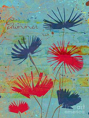 Summer Joy - Jy44v2b Art Print by Variance Collections
