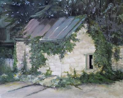Painting - Summer Kitchen by Rebecca Matthews