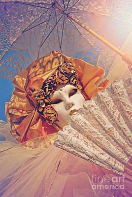 Summer Lady Art Print by Danilo Piccioni