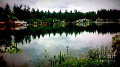 Photograph - Summer Lake  by Susan Garren