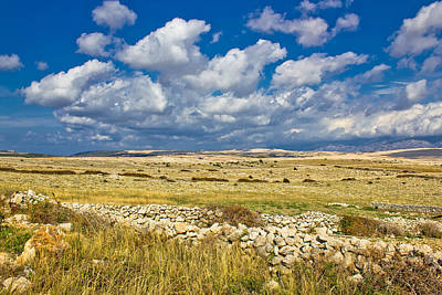 Photograph - Summer Landscape Of Pag Island by Brch Photography