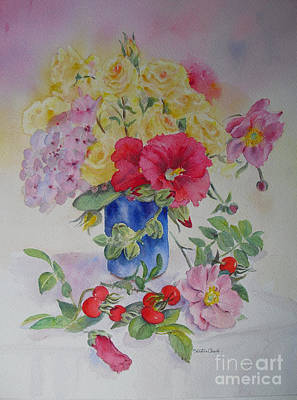 Painting - Summer Left Over by Beatrice Cloake