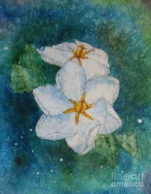 Gardenias Painting - Summer Light by Kitty Mecham