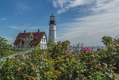 Photograph - Summer Lighthouse by Jane Luxton