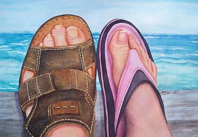 Painting - Summer Lovin' by Kathy Staicer
